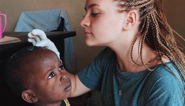 Клиника для детей в Африке