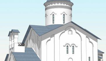 Строительство Храма в честь Грузинской иконы Божией Матери село Торхово Тульской области РПЦ