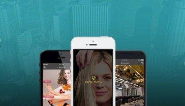 разработка приложения BeautyMap, для участия в венчурном конкурсе