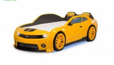 Подарок на ДР ребенку -  кроватка SUPER CAR