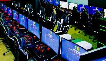 Открытие киберспортивной арены