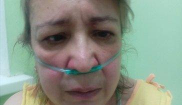 На операцию маме