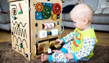 Создание производство бизибордов для малышей